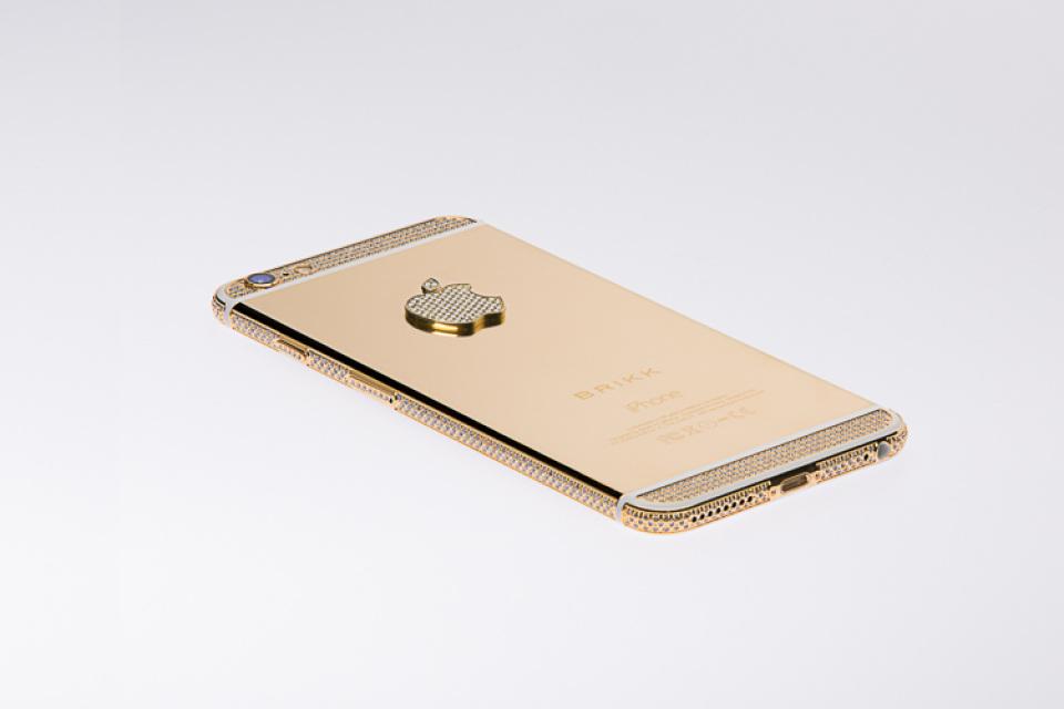 Iphone 6s Carbon Fiber Wallpaper Lux Iphone 6 Plus Yellow Gold Diamonds Select Black 128gb