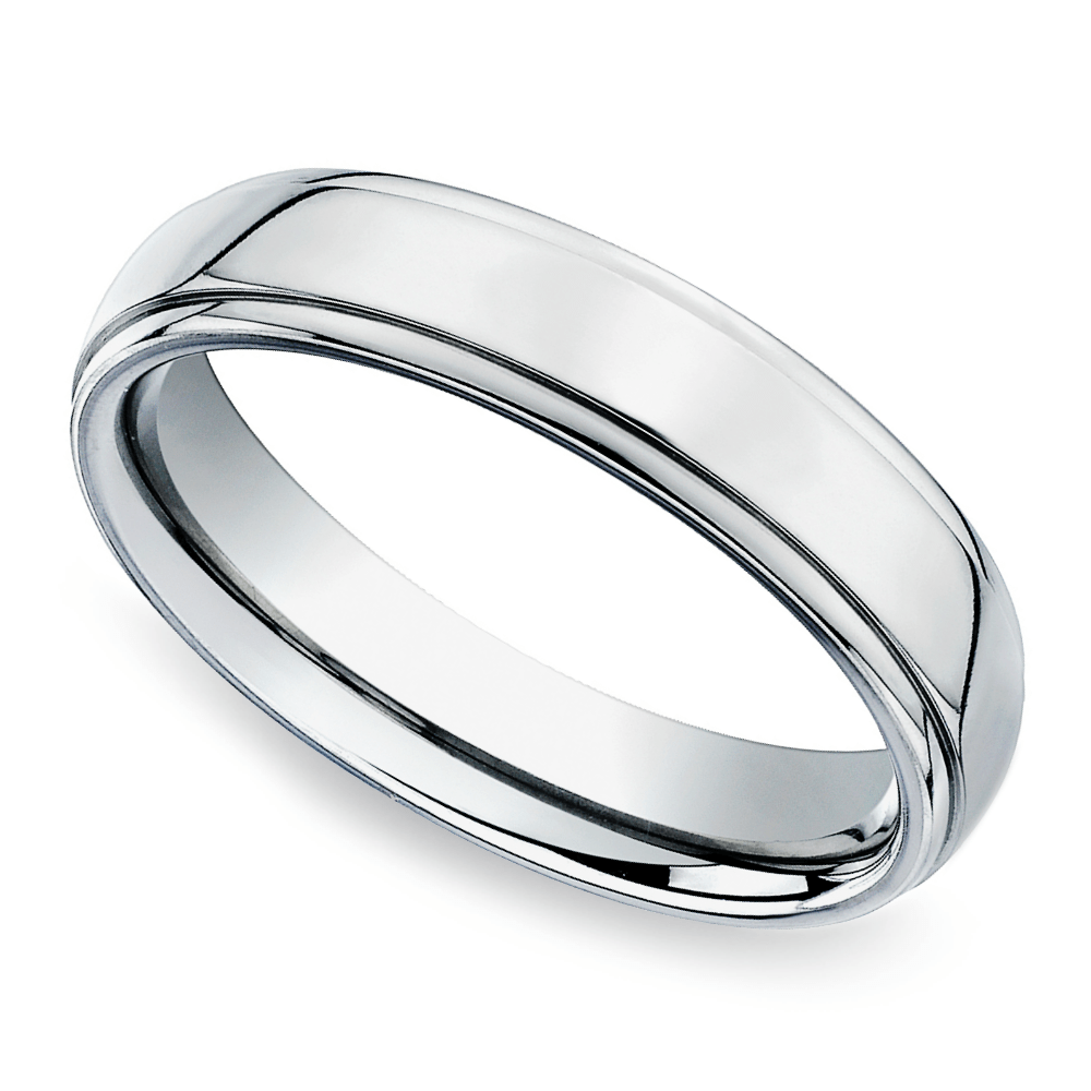 Bubbling Mens Wedding Bands