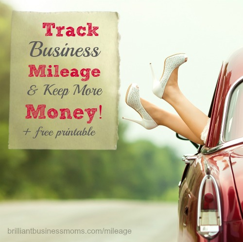 Track Business Mileage  Keep More Money (+ a Free Printable