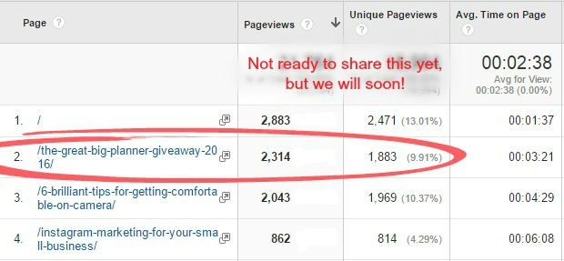 How we Gained 5,000+ Targeted Subscribers in One Week! - Brilliant - example of chronological order