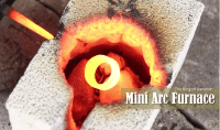 [Video] How To Make A Miniature Arc Furnace From Everyday ...