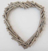 NEW - Shabby Chic Wood Wall Art Decor Or Sculpture - Large ...