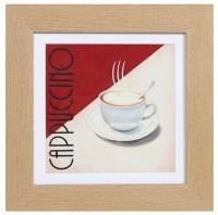 Framed Wall Art - Americano Coffee Cups Set Of 2 Prints