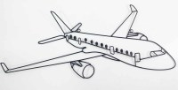 Aeroplane Outline   www.pixshark.com - Images Galleries ...