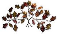 Metal Wall Art - Autumn Leaf Branch