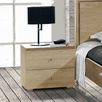 Table de nuit moderne en bois - Brin d'Ouest