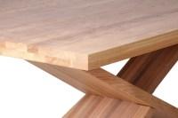 Table en bois massif design - Brin d'Ouest