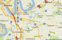 Brisbane Goju Karate Map