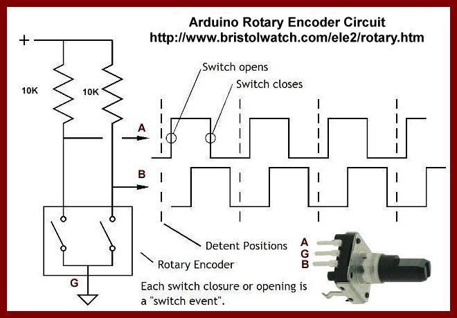 Better Arduino Rotary Encoder Circuit