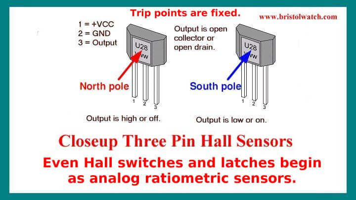 Introduction Hall Effect Switches Sensors Circuits Tutorial