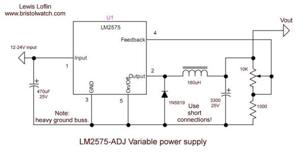 Lm2575 Simple Switching Voltage Regulators