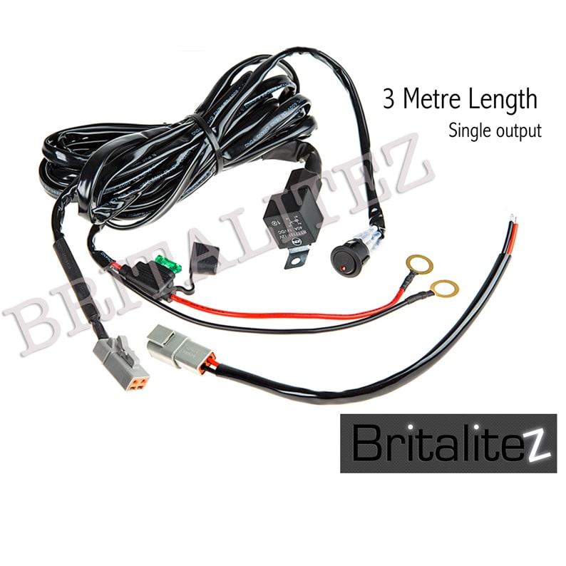 britalitez 12v wiring looms automotive