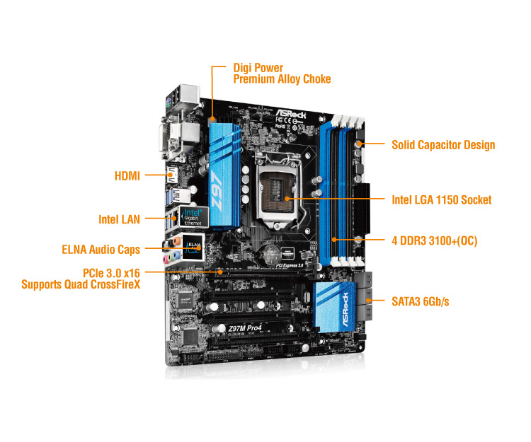 Asrock Z97 Pro4 Motherboard Review -