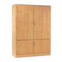 Pegboard Storage Cabinet