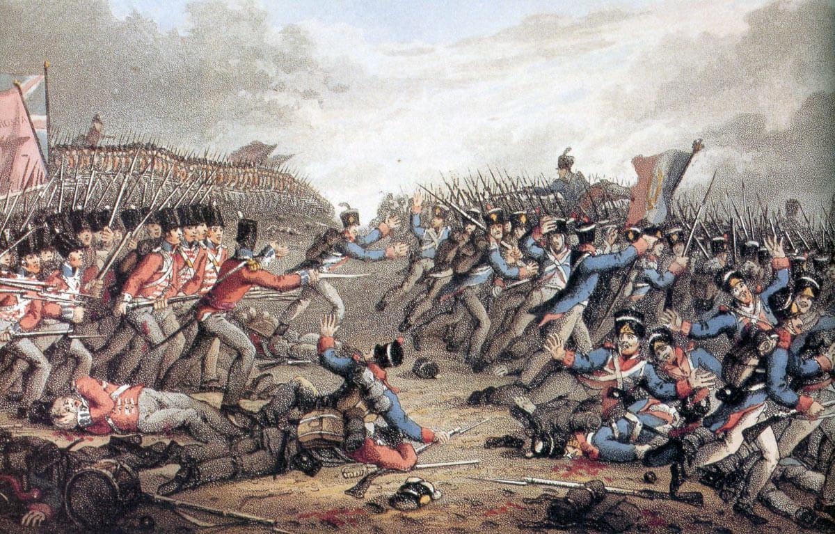 Peace Black Wallpaper Battle Of Waterloo
