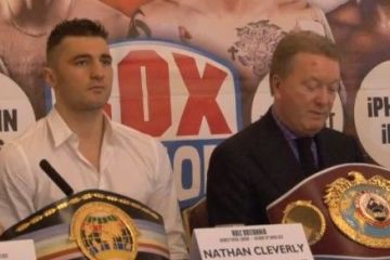 burns cleverly chisora press conference video