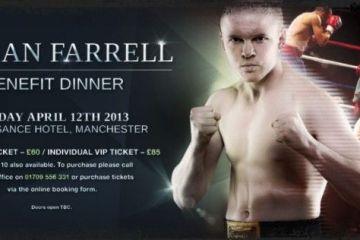 kieran farrell benefit night