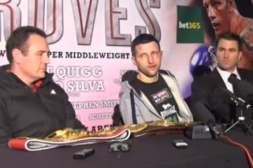 froch groves press conference