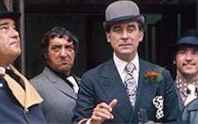 george baker stars in Bowler the sitcom spin off from the ITV comedy the Fenn street gang