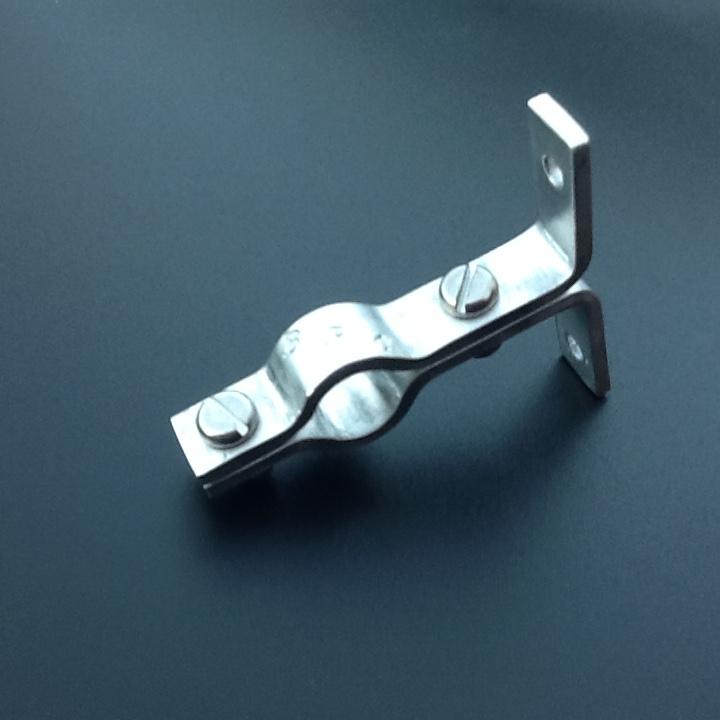 Stainless Steel Pipe Hangers Suspension Brackets Single