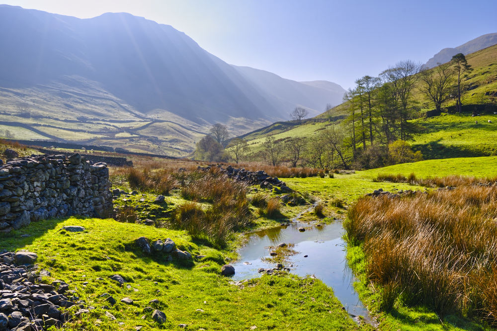 Beautiful Fall Scenery Wallpaper Experience The Dramatic Scenery Of The Lake District