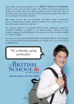 The British School of Amsterdam – Britsoc Sponsors