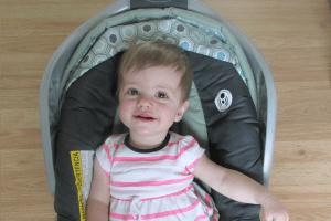 Eliza at 9 Months
