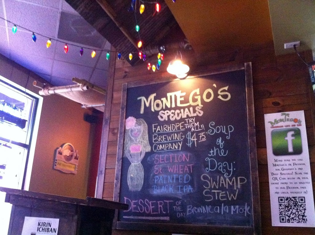 Montego's Caribbean Cafe & Bar on Urbanspoon