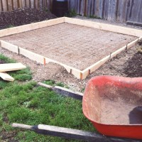 Project Backyard: Pouring a Concrete Pad  Brittany Stager