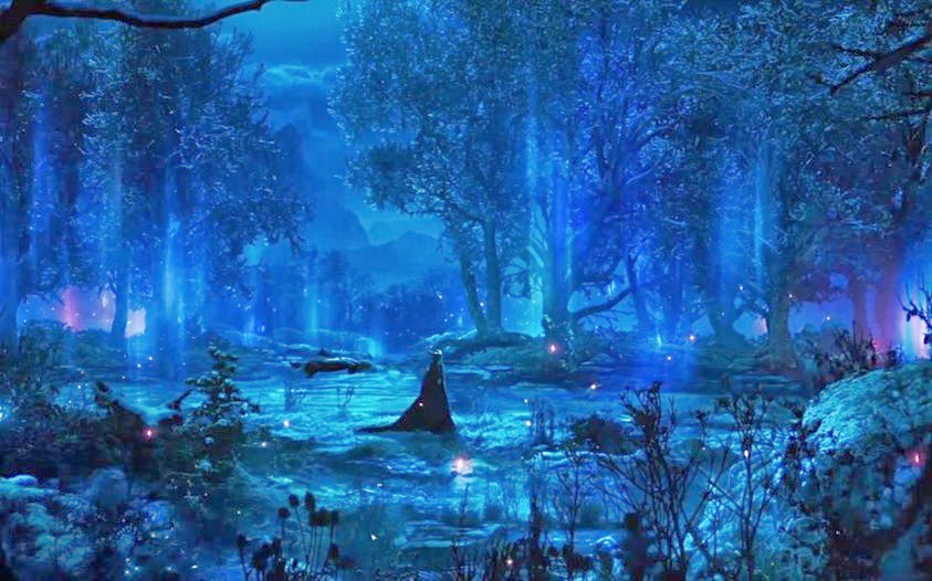 Fall Fairys Wallpapers Enchanted Fairy Forest Night