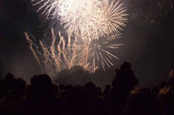 Brockwell Park Fireworks Picture by Alistair Hall
