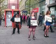 Street theatre in Brixton