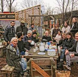 Loughborough Farm volunteers celebrate news of bid success