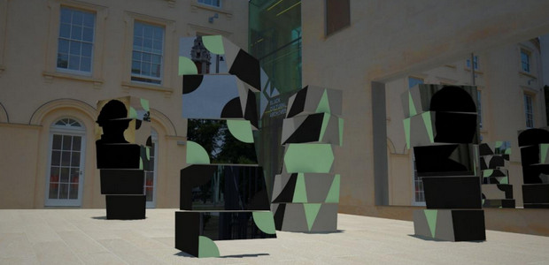 Coming soon: We Stand As Living Monuments installation outside the Black Cultural Archives