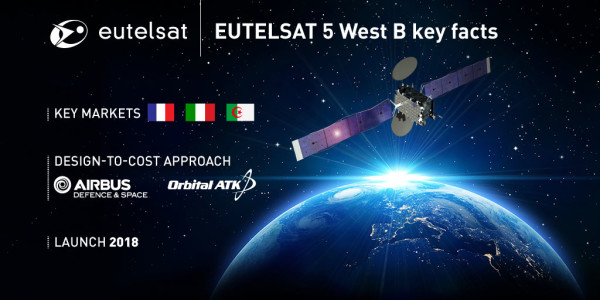 Eutelsat craft to launch with 'Space Tug'