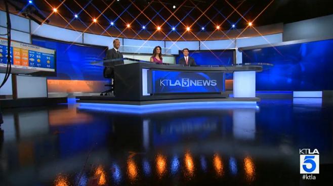 3d Wallpaper For Living Room In India Ktla 5 Set Design News Sets Broadcast Design