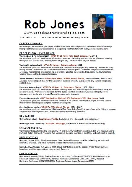Meteorologist Sample Resume Meteorology Resume shalomhouseus 2 - www - meteorologist sample resume