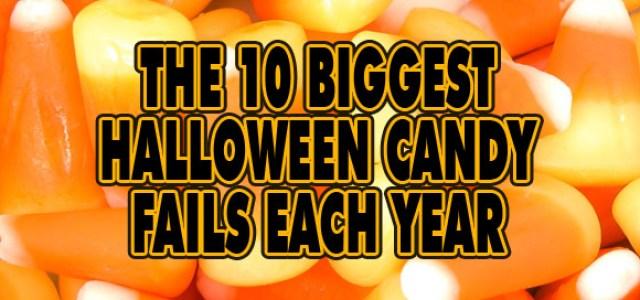 Halloween Candy Fails