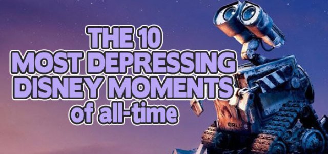Depressing Disney Moments