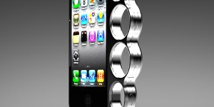 The iPhone Knucklescase will not help you in a fight