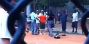Umpire and coach almost come to blows in Little League game