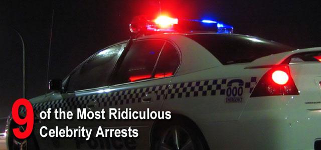 celebrity arrests