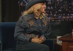 Carrie Underwood on Fallon