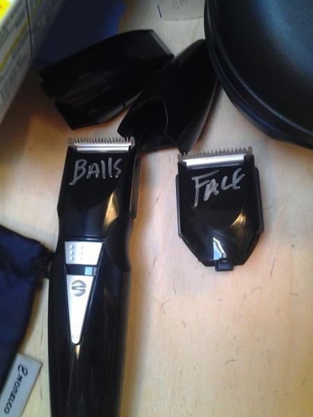 balls and face