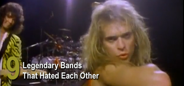 Bands Who Hated Each Other