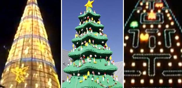 extreme christmas trees