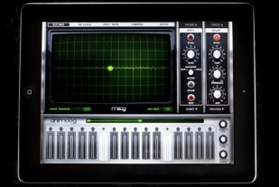 Moog synthesizer app
