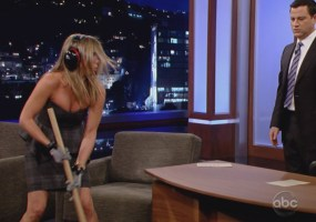 Jennifer Aniston on Jimmy Kimmel