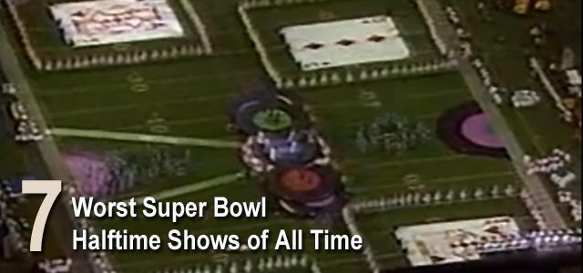 Worst Super Bowl Halftime Shows All Time