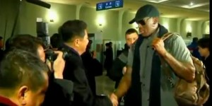 Dennis Rodman went to North Korea to visit Psy
